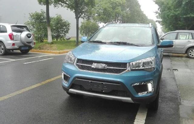 奇瑞瑞虎3X实车曝光-值完胜瑞虎3 奇瑞瑞虎全新SUV实车曝光高清图片