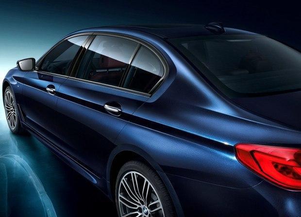 全新宝马5系长轴距版官图 上海车展亮相
