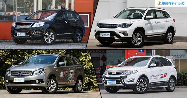 网红来了 4款高关注度SUV卖8.68万