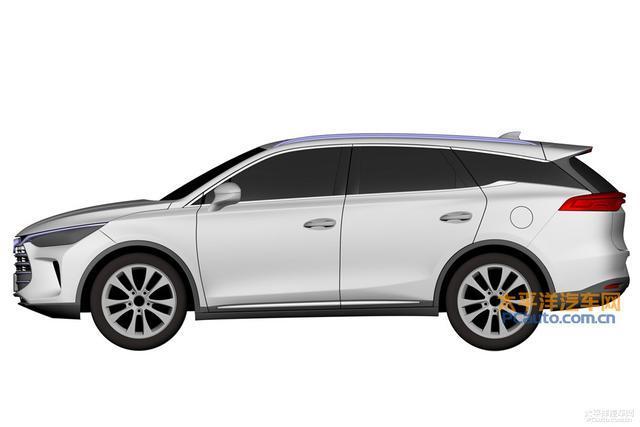 4月17日亮相 比亚迪全新SUV专利图曝光