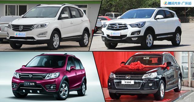 8万买SUV 4款高品质经济型SUV导购