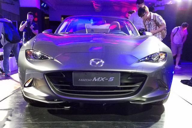 上海车展马自达之夜 CX-3/MX-5 RF国内首秀