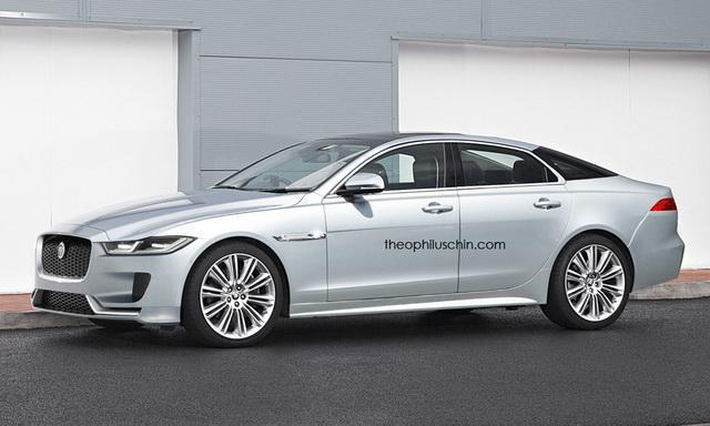 捷豹新一代XJ假想图 或采用全铝车身