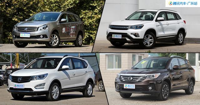 最低8万起售 4款热销紧凑SUV推荐