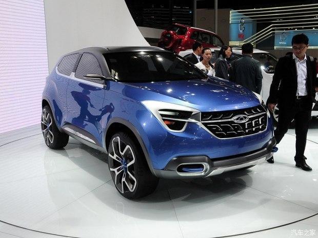 奇瑞T17量产车设计图公布 最炫中国风