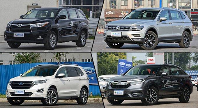 5座/7座可选 舒适宽享型合资SUV推荐