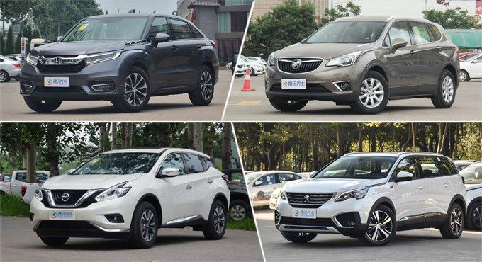 气场十足空间大 合资品牌中型SUV推荐