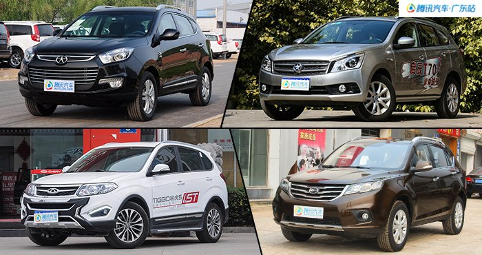 最低8万起售 4款小型SUV最高降1万