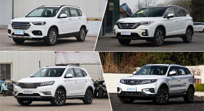 销量榜常青树 高品质自主紧凑型SUV推荐