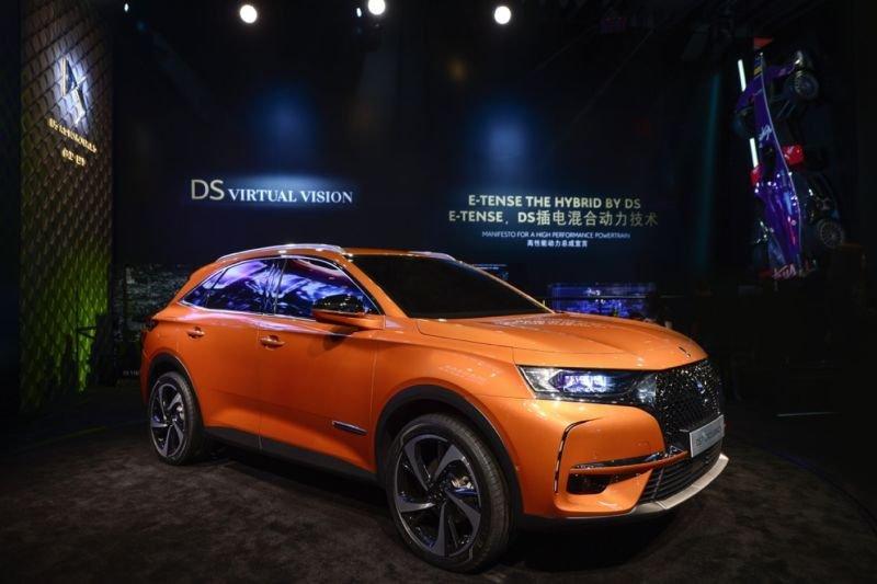 DS 7 CROSSBACK携手新代言人王凯完成中国首秀