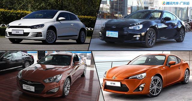 国庆出门嗨 荐四款20万进口运动车