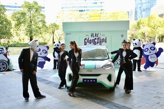 盼达用车落地广州  2018年计划投入5000辆新能源共享汽车