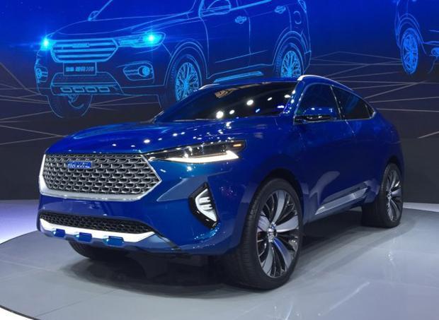 哈弗HB-03 Hybrid概念车上海车展亮相