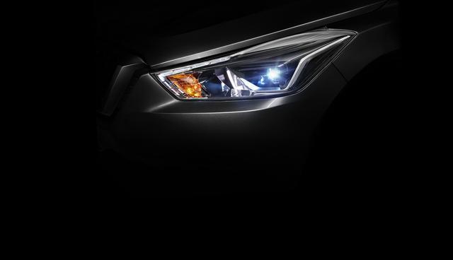 东风日产全新SUV官方预告图发布 上海车展首发