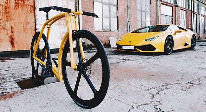 单车界超跑 兰博基尼同款极速50km/h