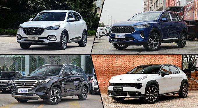 选谁更个性? 四款自主品牌SUV推荐