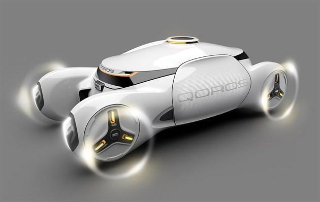 观致无人驾驶概念车官图 展望2050年
