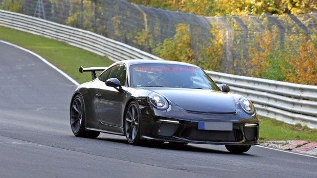 新款911 GT3 3月亮相 搭载4.0L发动机