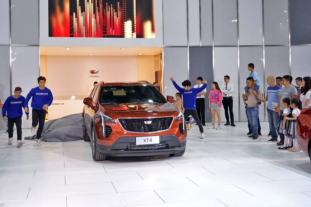 售價25.97-39.97萬元  新豪華運動SUV 凱迪拉克XT4燃情上市