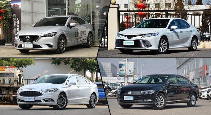外观时尚空间大 四款合资中型轿车推荐