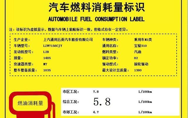宝骏310将新增1.5L+5MT版 或售4万元起