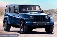 Jeep新牧马人更多消息曝光 或1月发布