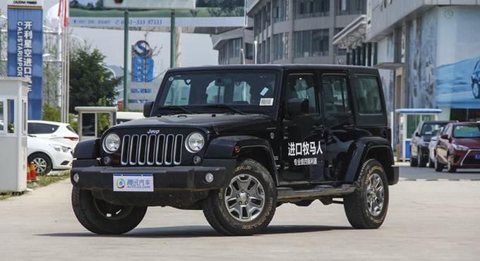 桂林 Jeep牧马人促销优惠7.5万