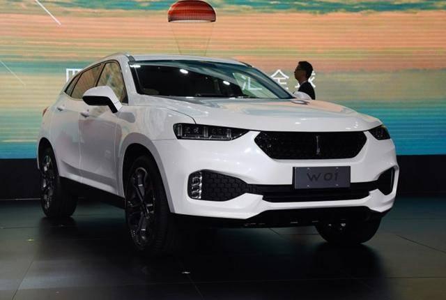 曝长城汽车高端品牌WEY W01实车 将4月上市
