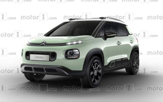 曝C3-Aircross效果图 雪铁龙未来小型SUV