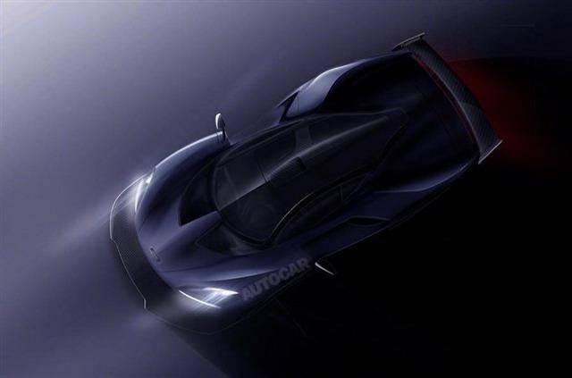 代号P15 迈凯伦发布全新超跑或2017年底亮相