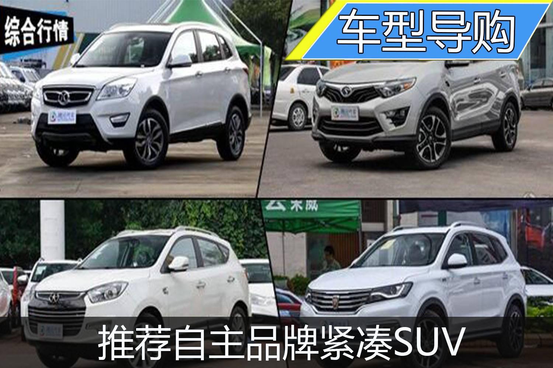 推荐自主品牌紧凑SUV