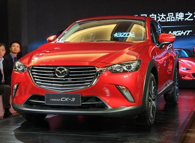 马自达CX-3先进口/起售或13万 随后将国产