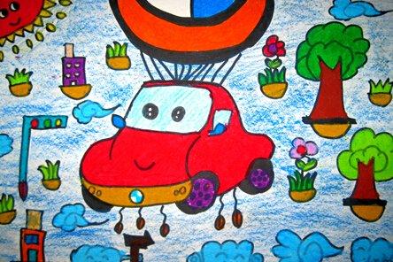 家乡环保生活绘画-明天美术考试,应该画什么图呢 六年级的,急急啊
