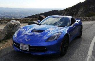 海外帅气corvette C7提车作业