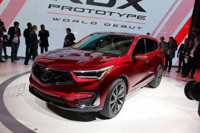 搭10AT变速箱 讴歌全新RDX北美车展亮相
