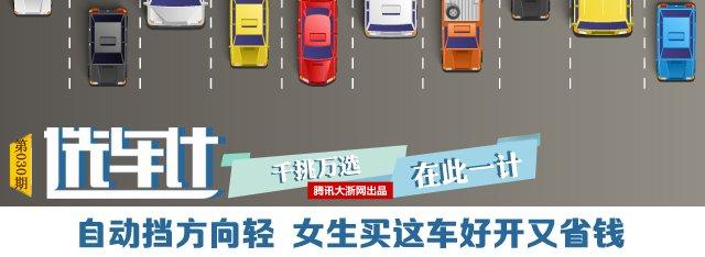 [选车计]灵活好停方向轻 10万内适合女司机开的车
