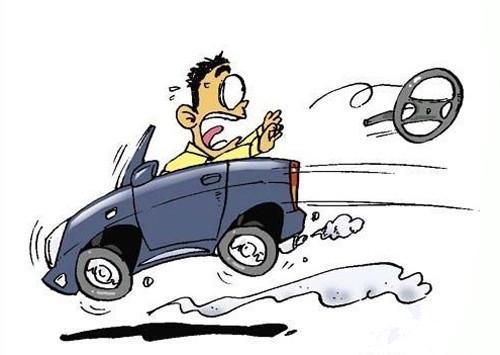 盘点开车紧急避险10大绝招 爆胎采用点刹图片