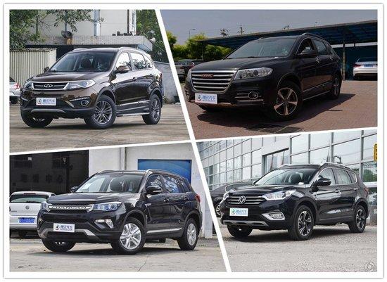 风神AX7优惠1万 四款国产紧凑SUV行情汇总