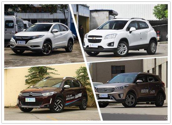 雪铁龙C3-XR优惠1万 四款合资小型SUV行情