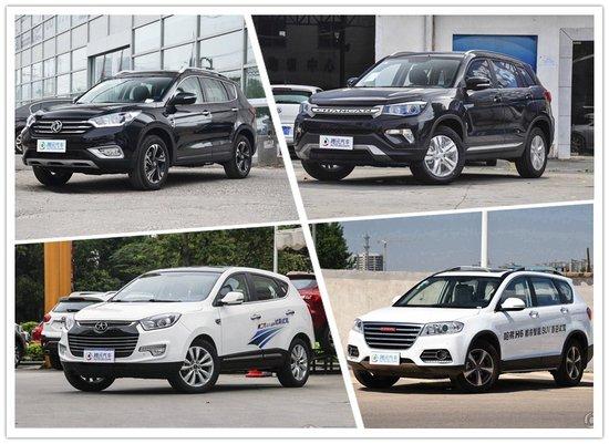 长安CS75优惠6千 四款热门国产SUV推荐