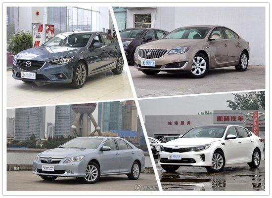 起亚K5优惠2.5万 四款主流合资中级车推荐