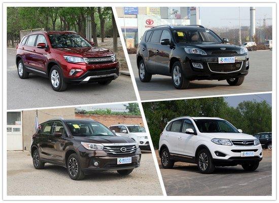 长安CS75优惠0.8万 四款国产紧凑SUV行情