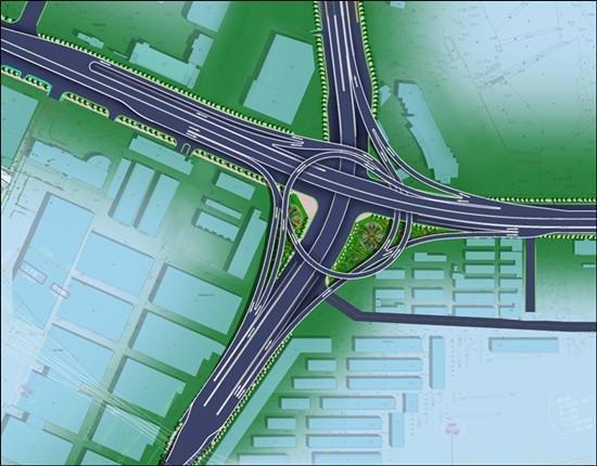 铜陵路高架将延伸至天水路 与北二环交口设互通