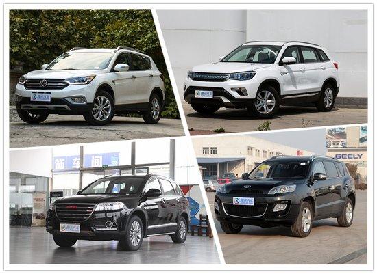 长安CS75优惠8000元 四款国产紧凑SUV行情
