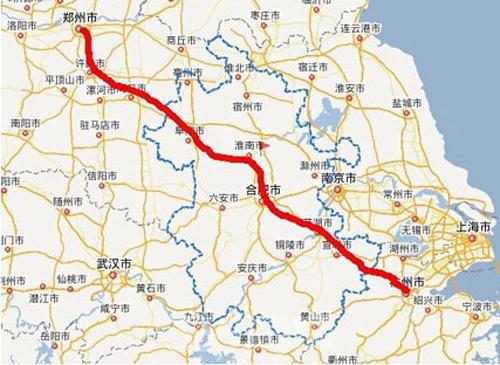 商合杭高铁安徽浙江段本月底开建 合安高铁获批