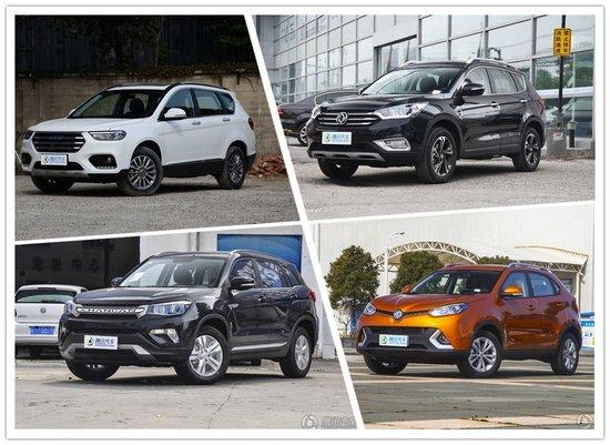 MG锐腾优惠2万 四款热门国产SUV推荐