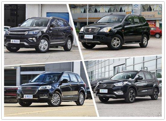 荣威W5优惠3.5万 四款热门国产SUV推荐