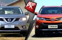 奇骏对比RAV4 日系高销量SUV大比拼