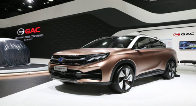 广汽传祺GE3、EnSpirit全球首发 创新展示未来移动汽车生活