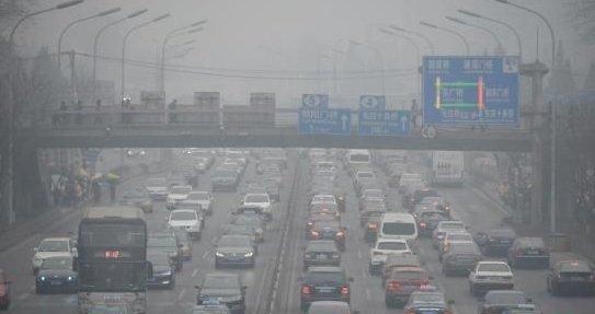 环保部公布九大城市雾霾源 机动车又躺枪